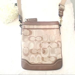 Authentic Coach purse - Cross body